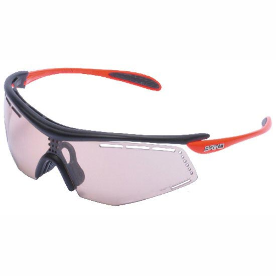 Briko Diablo TRX Adaptive AFV S1-3 - Matt Black/Shiny Orange Fluo