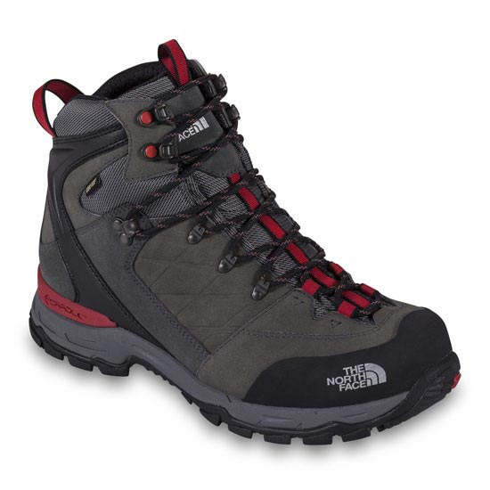 The North Face Verbera Hiker II GTX - Graphite Grey/TNF Red