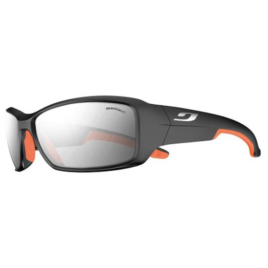 Julbo Run Black Soft Spectron X4 -  Mate negro / Naranja