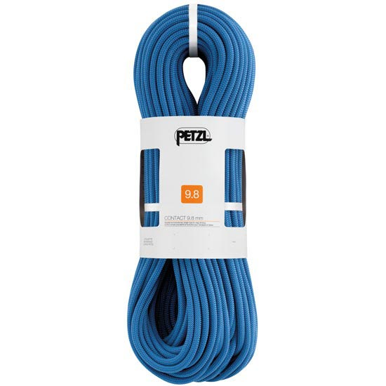 Petzl Contact 9.8 mm x 80 m Azul -