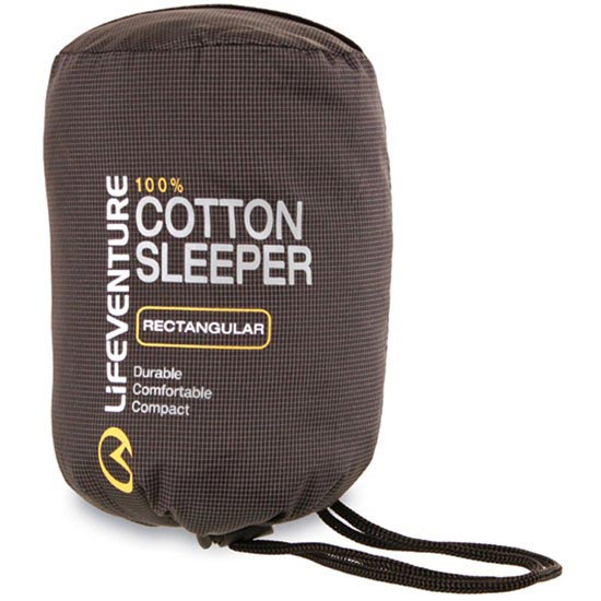 Lifeventure Cotton Sleeper Mummy - Photo de détail