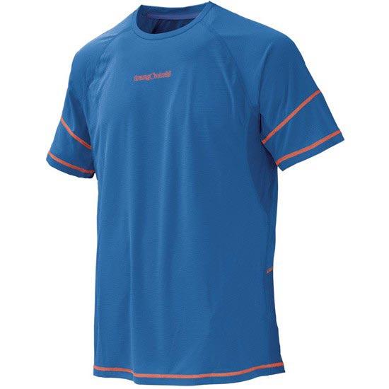 Trangoworld Camiseta Owen - Azul Oscuro/Azul Limoges