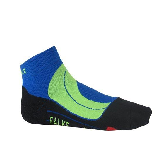 Falke Ru4 Cushion Short - Black/Blue