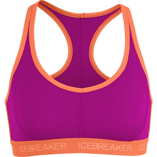 Icebreaker Sprite Racerback Bra - Black