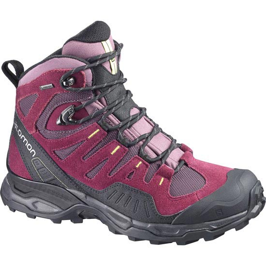 Salomon Conquest Gtx W - Violette-X/Bordeaux/Flas