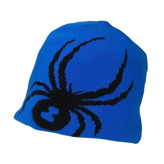 Spyder Boy's Reversible Bug Hat - Stratos Blue/Black