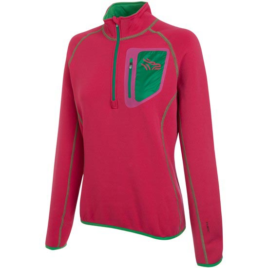 Grifone Starlex Lady T-Shirt W - Bright Rose/Bright Green