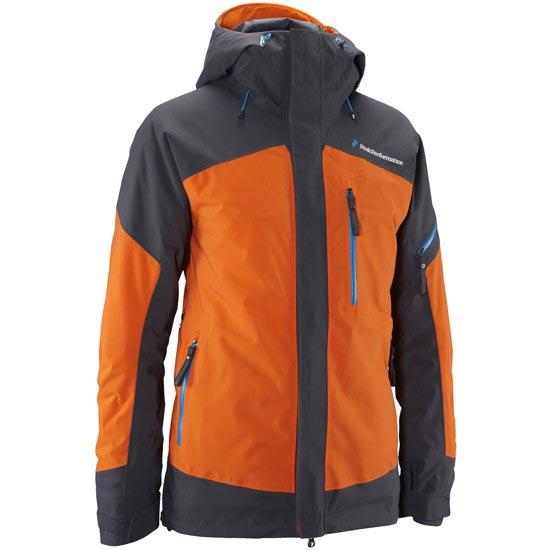 Peak Performance Helium Chilkat Jacket - Hot Orange