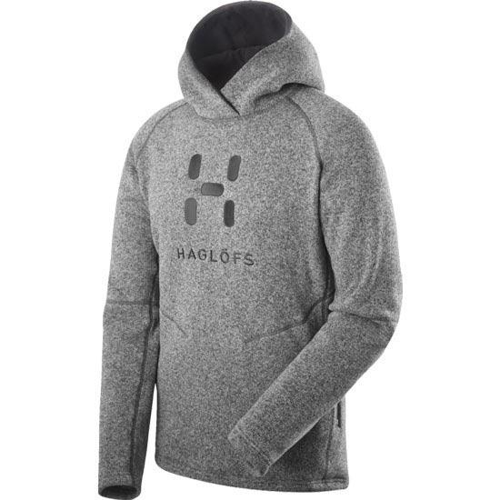 Haglöfs Swook Logo Hood - Concrete