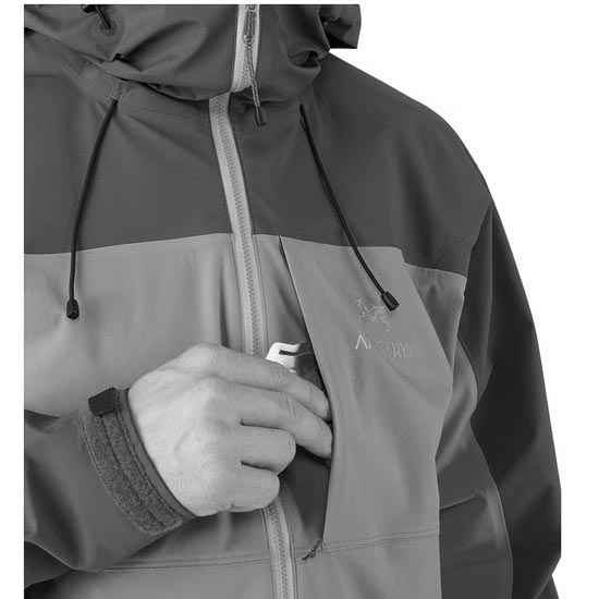 Arc'teryx Alpha Comp Hoody - Photo de détail