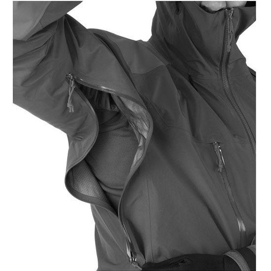 Arc'teryx Alpha AR Jacket - Photo de détail