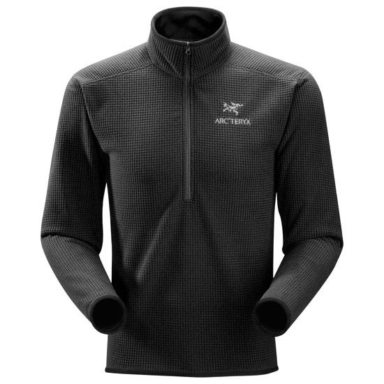 Arc'teryx Delta AR Zip Neck - Black