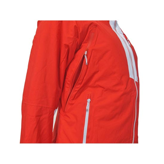 Atomic Treeline 2L Light Jacket Red/Light W - Photo de détail
