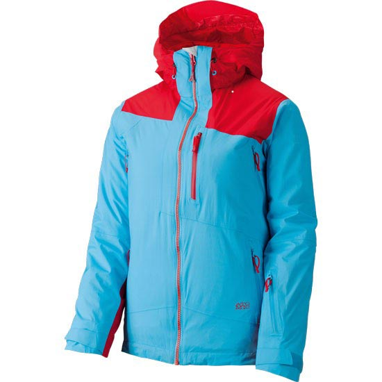 Atomic Treeline 2L Light Jacket W - Turquoise/Red