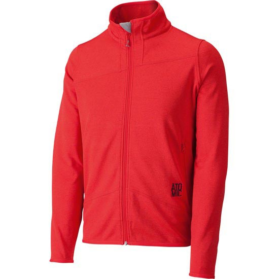 Atomic Treeline Microfleece Jacket M - Rouge