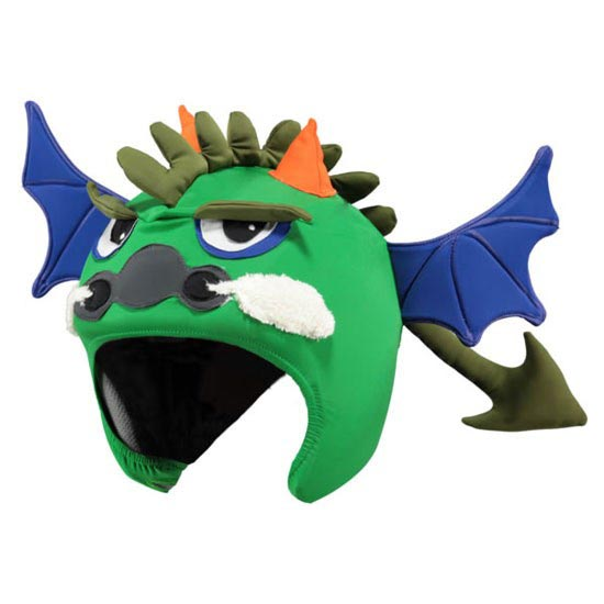 Barts Helmet Cover 3D sw - Green Dragon