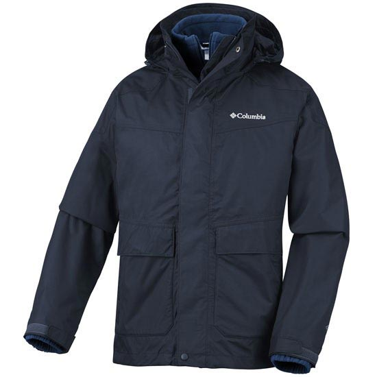 Columbia Franklin Cliff Interchange Jacket - Abyss
