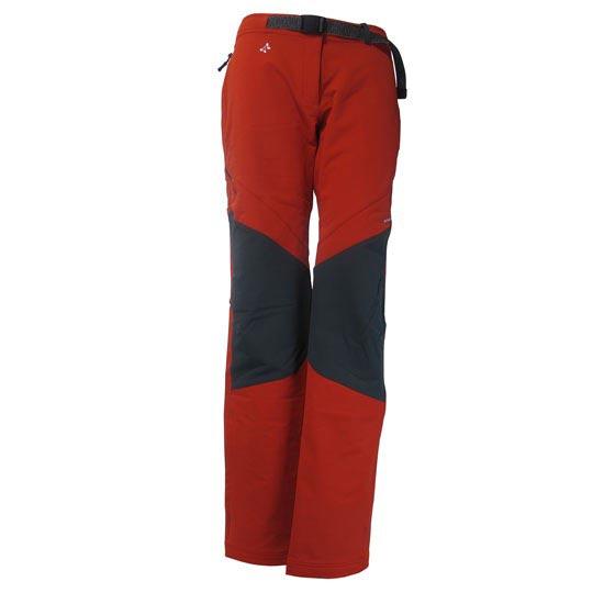 Trangoworld Pantalon long Hajar Femme - Rouge