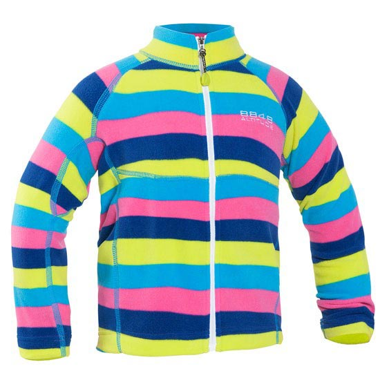 8848 Altitude Stripe Min Sweat - Cerise