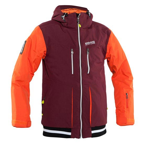 8848 Altitude Etnil JR Jacket - Dark Red