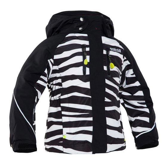 8848 Altitude Zara Min Jacket Jr - Zebra Black