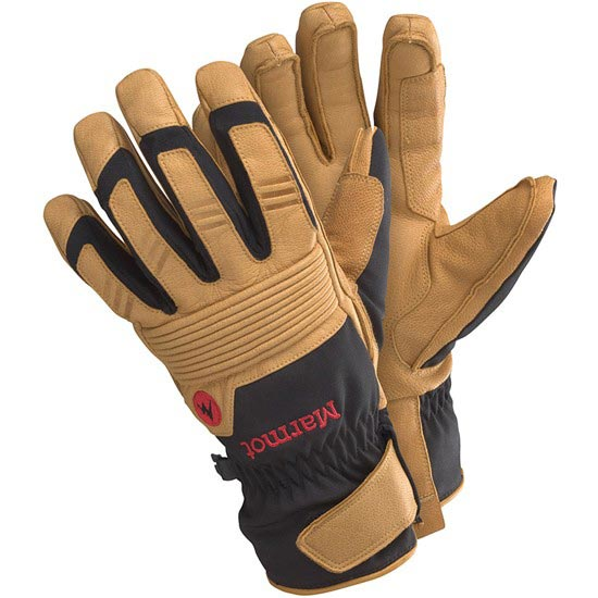 Marmot Exum Guide Undercuff Glove - Black/Tan