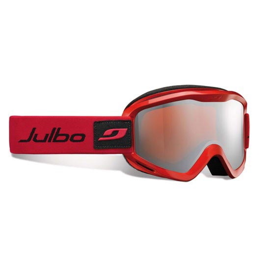 Julbo Plasma S3 Silver Flash - Metallic Red/Orange