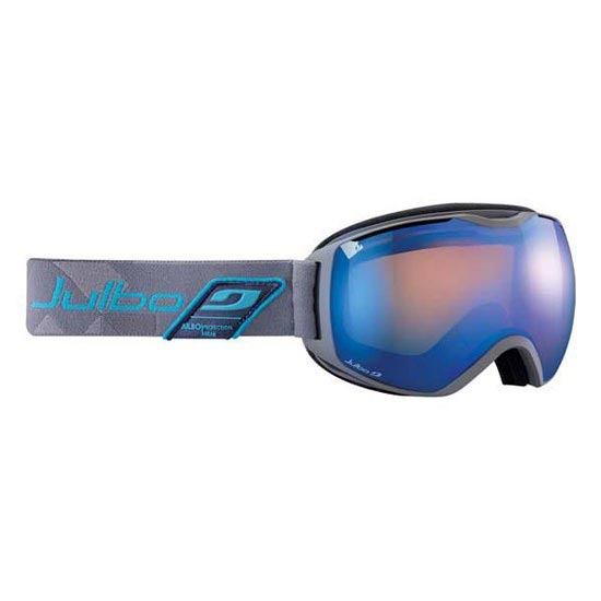Julbo Quatum Orange S2 Blue Flash - Gris / Bleu