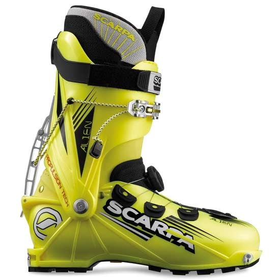 Scarpa Alien - Yellow Fluor