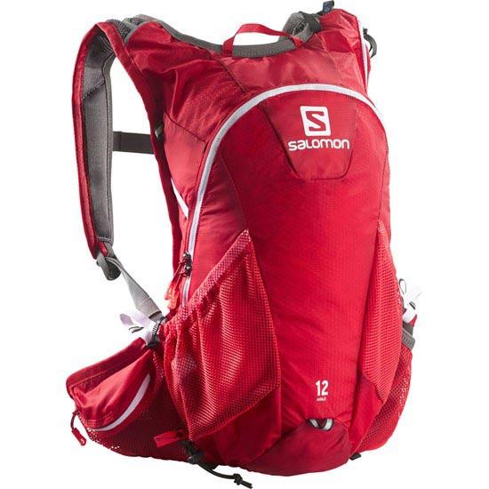 Salomon Agile 12 SET - Bright Red/White