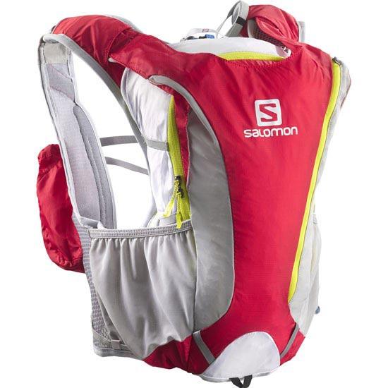 Salomon Skin Pro 14+3 Set - Bright Red/White/GGreen