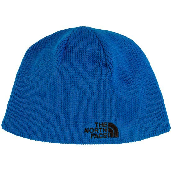 The North Face Bones Beanie Jr - Snorkel Blue/TNF Black