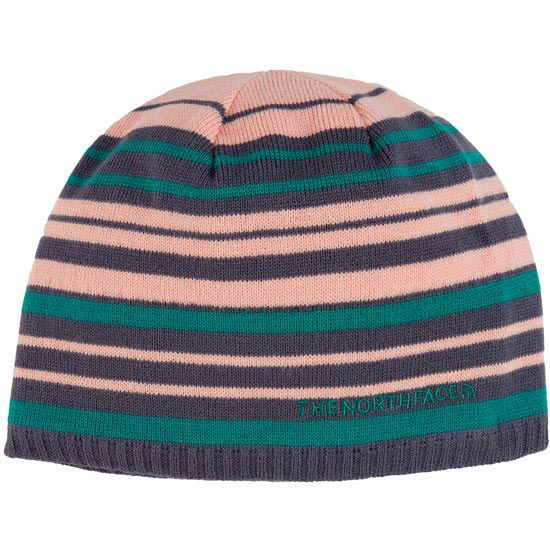 The North Face Rocket Beanie - Greystone Blue Stripe