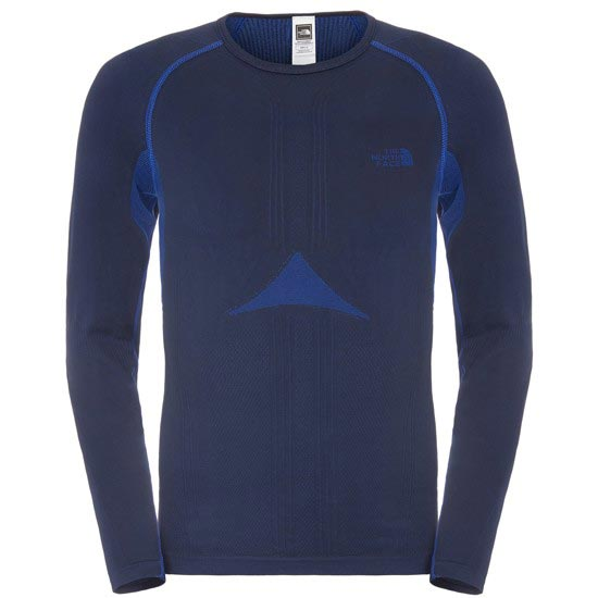 The North Face Hybrid L/S Crew Neck - Cosmic Blue