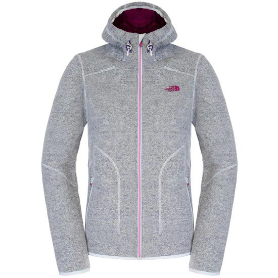 The North Face Zermatt Full Zip Hoodie W - Dapple Grey Heather