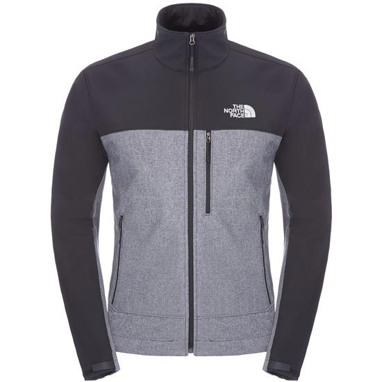 The North Face Apex Bionic Jacket - TNF Black Heather/TNF Black