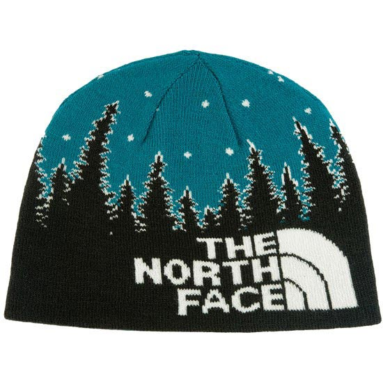 The North Face Youth Anders Beanie - TNF Black/Egyptian Blue
