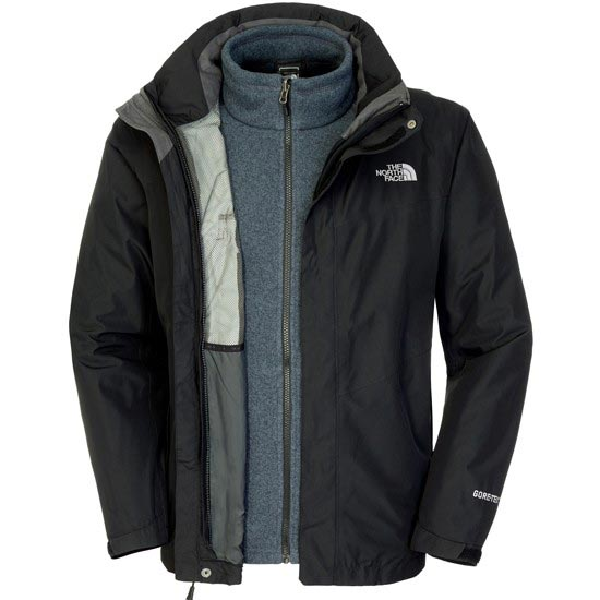 The North Face All Terrain II Triclimate Jacket - TNF Black