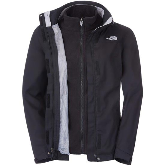 The North Face Evolve II Triclimate Jacket W - TNF Black