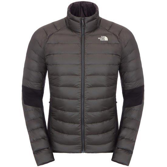 The North Face Crimptastic Hybrid Jacket - Asphalt Grey/TNF Black