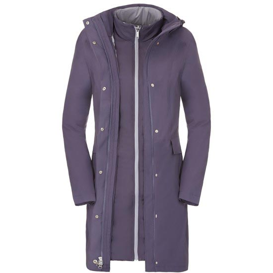 The North Face Suzanne Triclimate Jacket W - Greystone Blue