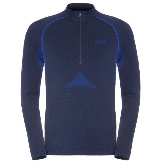The North Face Hybrid L/S Zip Neck - Cosmic Blue