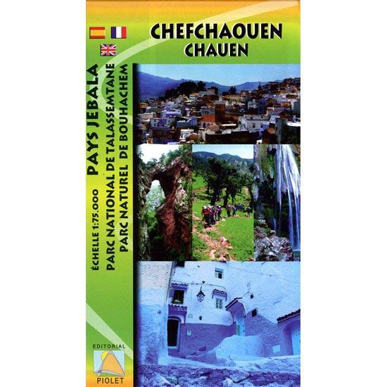 Ed. Piolet Mapa Chefchaouen Talassemtane 1:75000 -