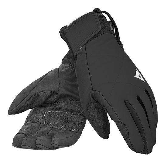 Dainese Natalie 13 D-Dry Glove - Black/Black/White