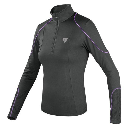 Dainese Fleece Lady Small Zip E1 - Black/Purple