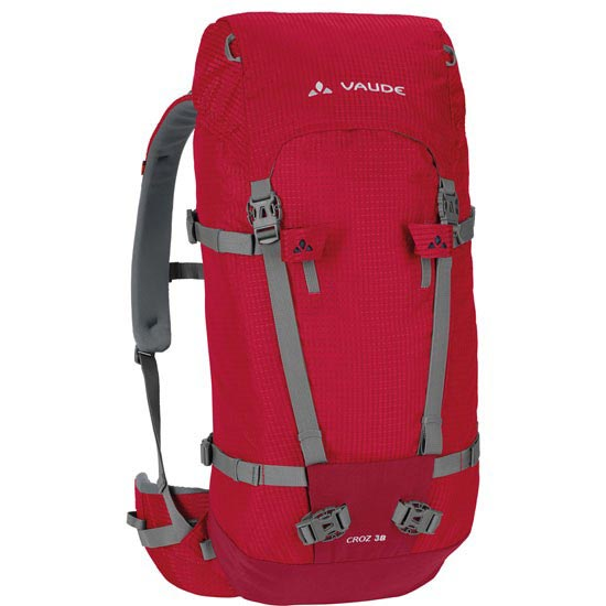 Vaude Croz 38 + 8 - Indian Red