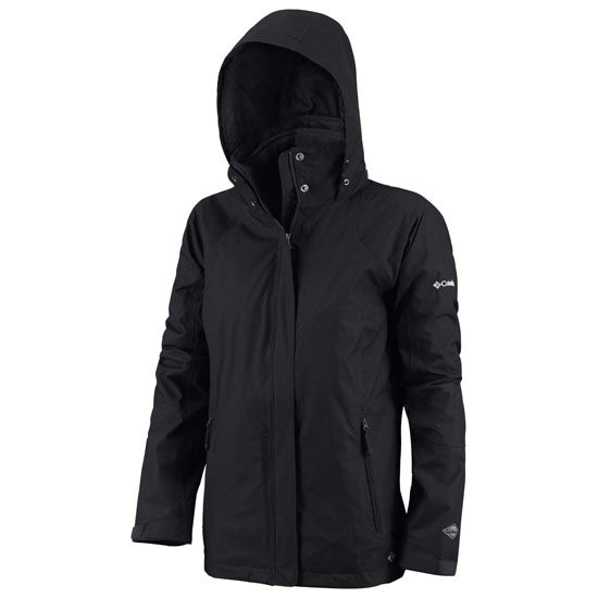 Columbia Pioneering Peak Interchange Jacket W - Black
