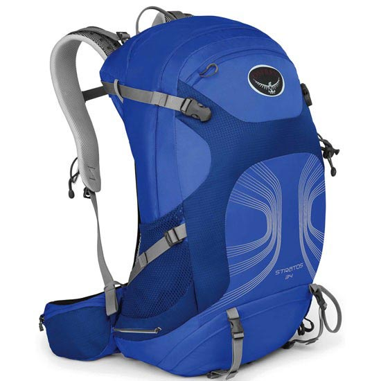 Osprey Stratos 34 - Harbour Blue