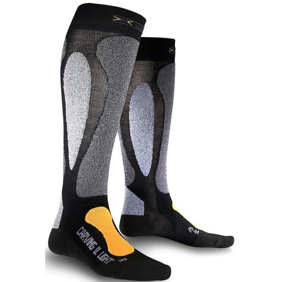 Xsocks SKI Carving Ultralight - Orange/Black