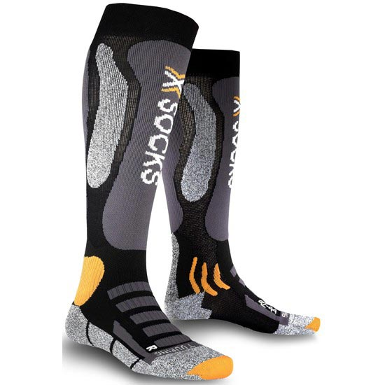 Xsocks Ski Touring - Negro/Antracita